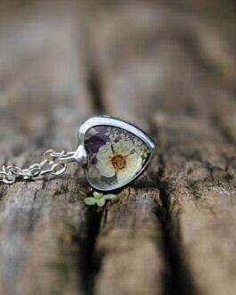 Malutkie serduszko z fioletowym Chabrem