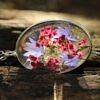 Naszyjnik Romantyczny z Wrzosem