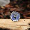 Pierścionek z niebieskim Chabrem